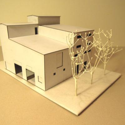 Architektonický model domu