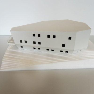 Architektonický model meteoroligcké stanice