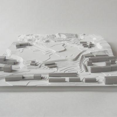 Urbanistický model Červený kopec