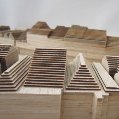Urbanistický model Jaroměře